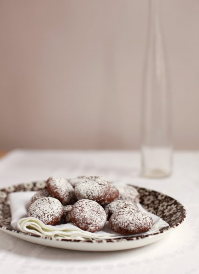 Julie's Chocolate Crinkles