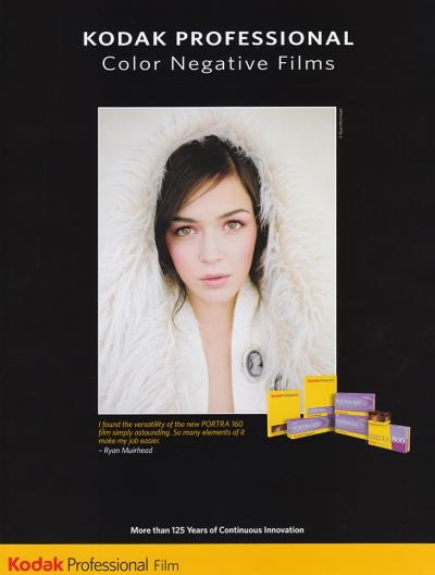 Featured in a Kodak Film Brochure