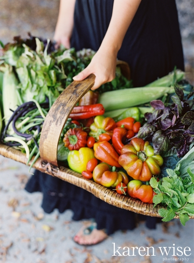 Farm to Table Shoot in Santa Barbara: Veggies Galore
