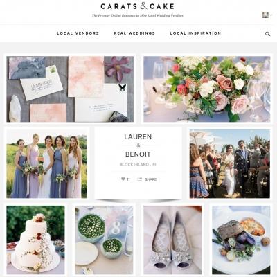 Rhode Island Wedding on Carats and Cake
