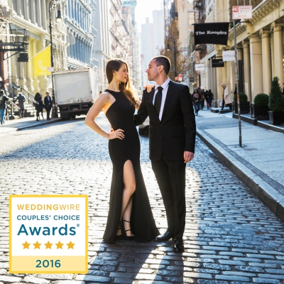 WeddingWire Couples' Choice Award