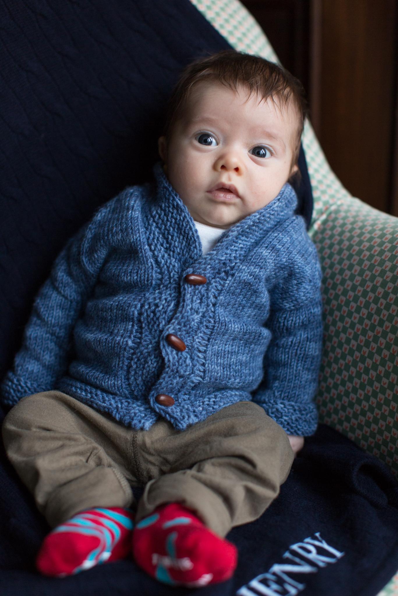 Karen Wise - baby Henry Nathaniel
