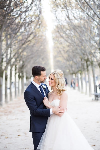 Paris Wedding Published on Style Me Pretty