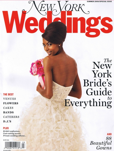 Published in Brides, Elegant Bride and New York Weddings