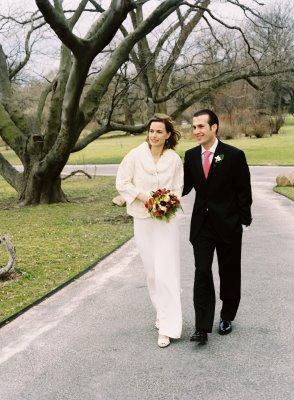 Winter Wedding at the Brooklyn Botanic Garden