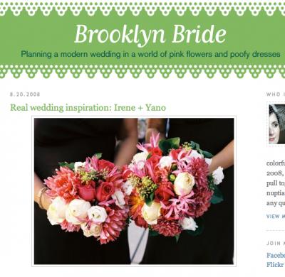 Thanks  Brooklyn Bride!