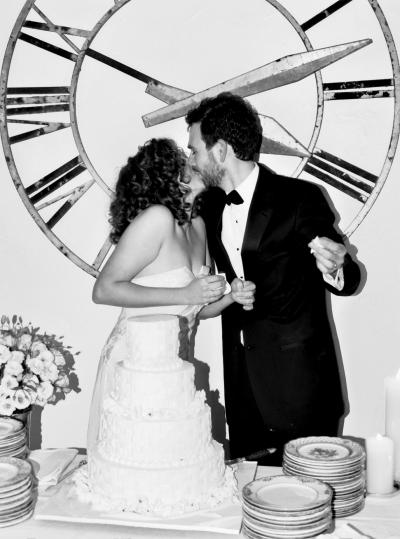 Ashley and Jack's November Wedding: Westside Loft