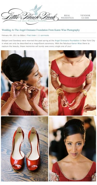 Published on Style Me Pretty – Angel Orensanz