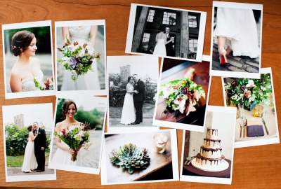 Lindsey + Brian – Prints on my Table