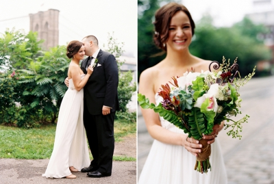 Image of the Month: Lindsey & Brian in Brooklyn