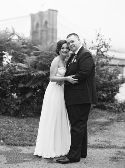 Lindsey & Brian's Smack Mellon Wedding