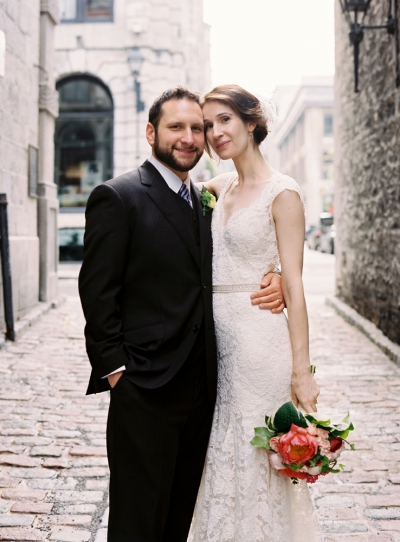 A Year Ago Today: My Wedding in Old Montreal