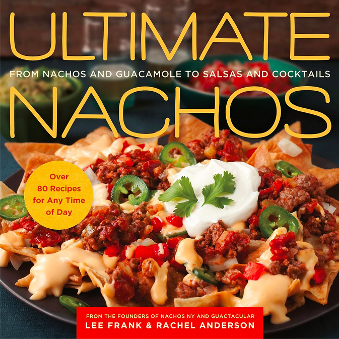 Ultimate Nachos Cookbook Cover