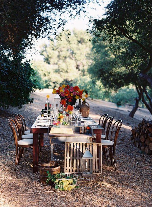 A Santa Barbara Farm to Table Dinner