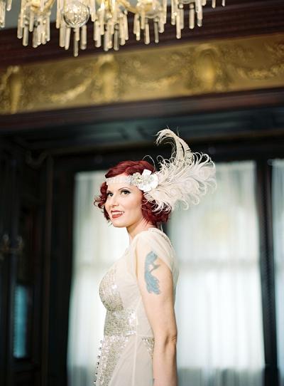 Sneak Peek: Jennie + Joe's Flapper Style Brooklyn Wedding