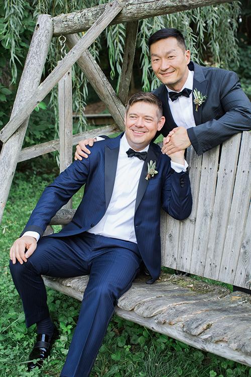 Justin + Darren – Buttermilk Falls