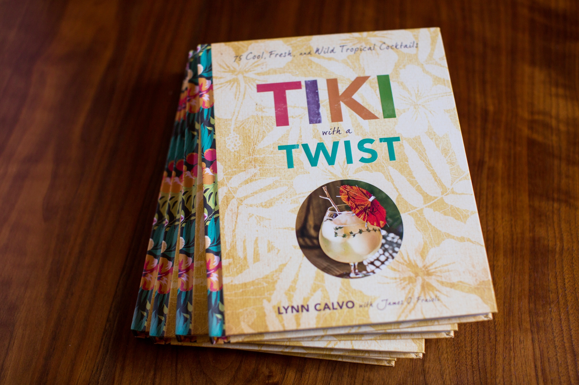 Tiki with a Twist Cocktail Book