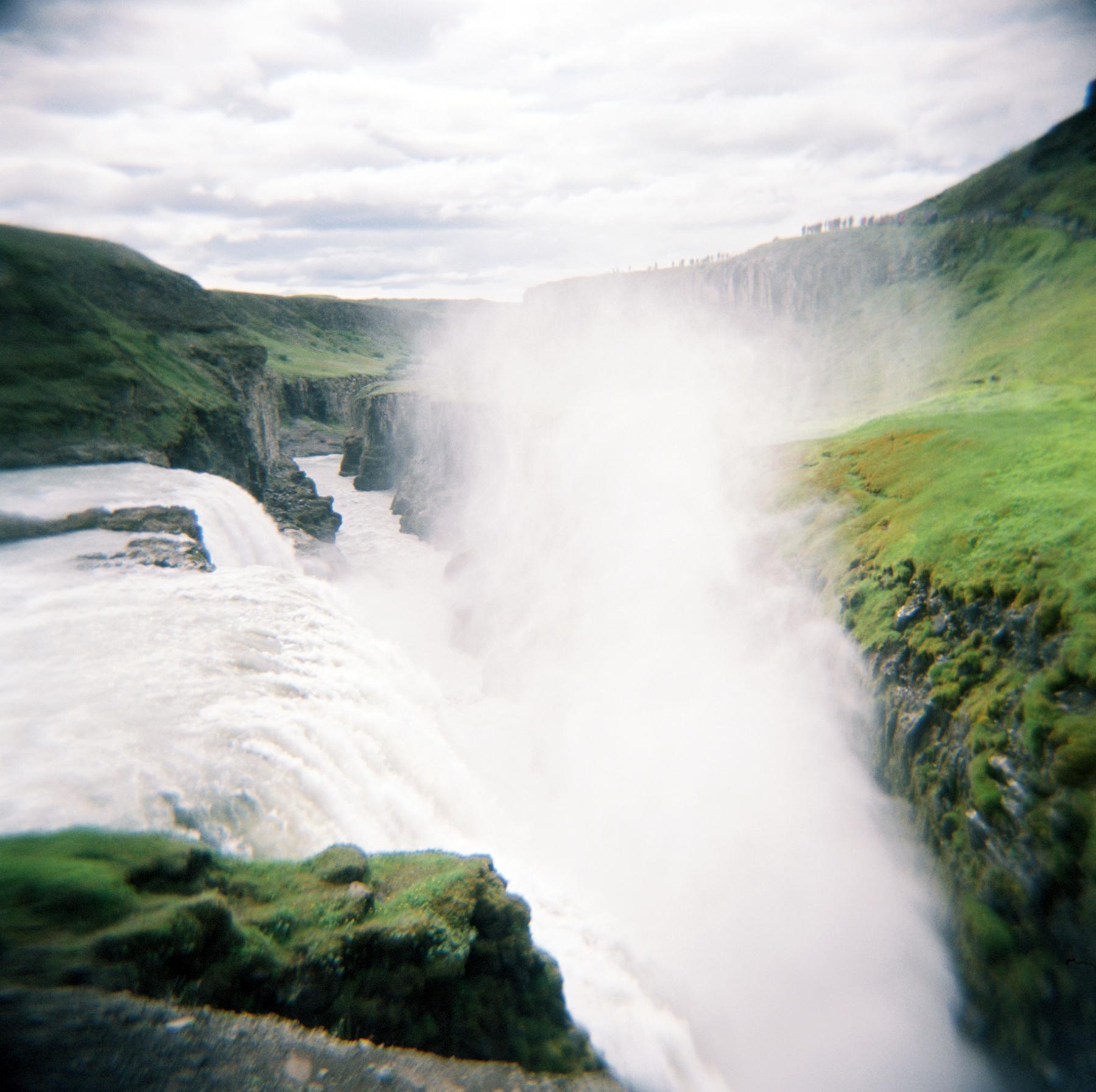 Gulfoss Iceland - Holga