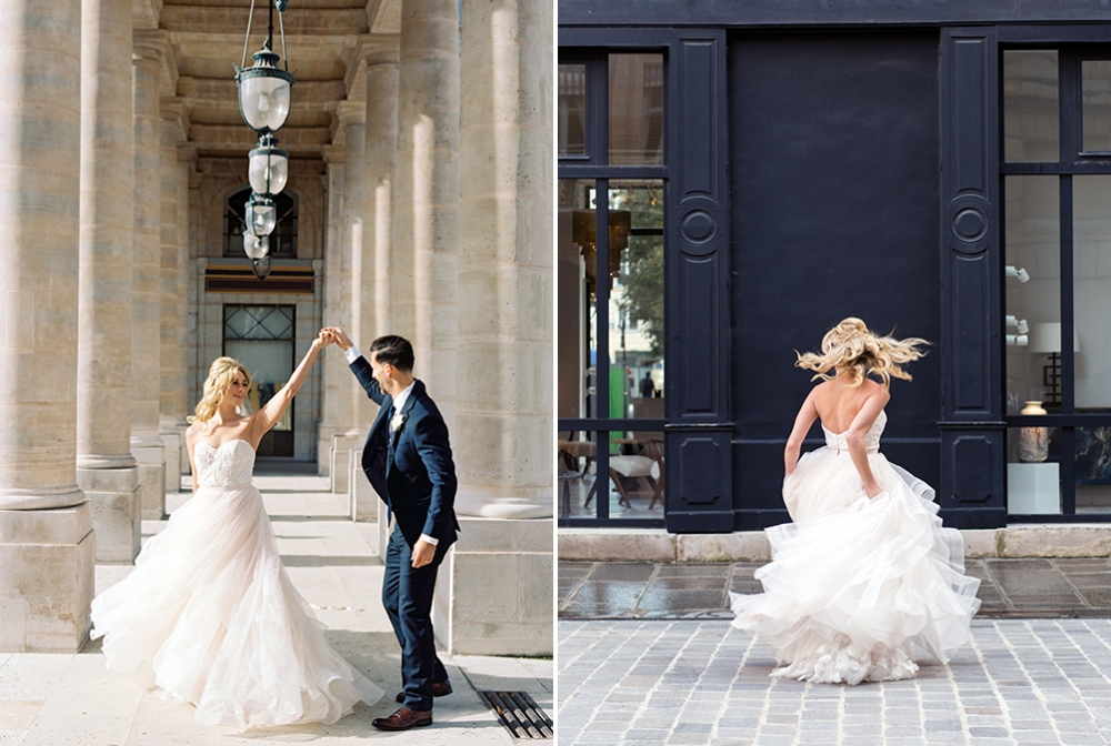 Mia + Sean's Paris Wedding