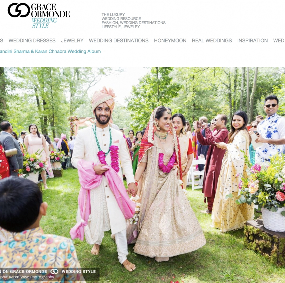 Karen Wise - Indian Wedding at Pleasantdale Chateau