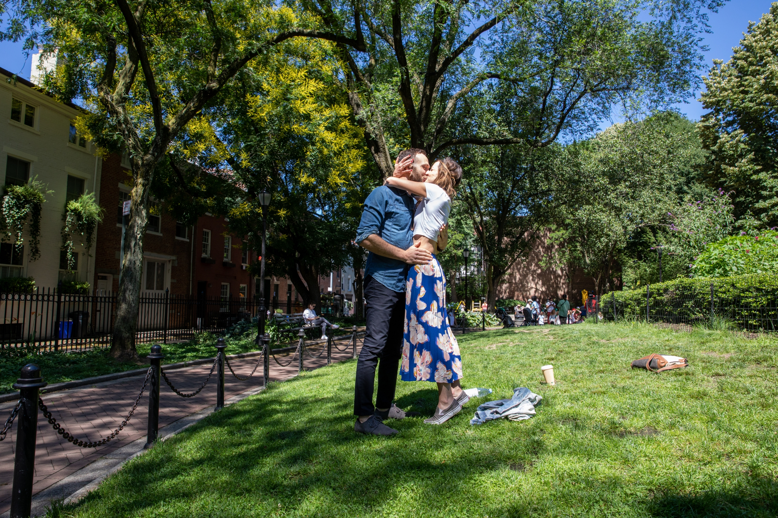 Brooklyn Engagement Proposal Shoot